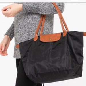 Foldable Nylon Packable Shopping Tote
